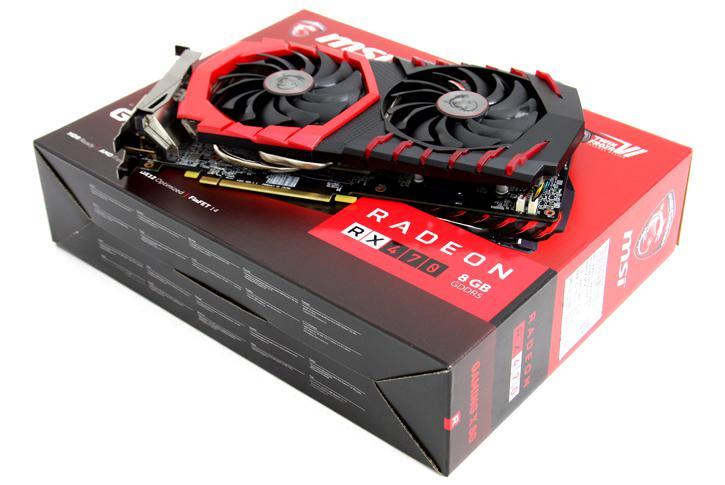 AMD Radeon RX 470 Hashrate