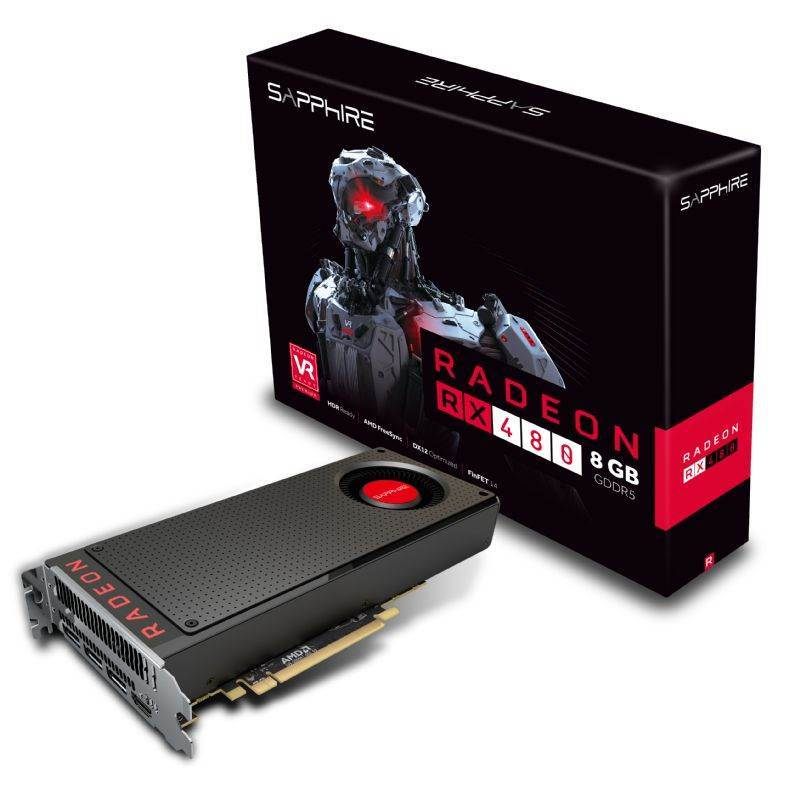 AMD Radeon RX 480 Hashrate