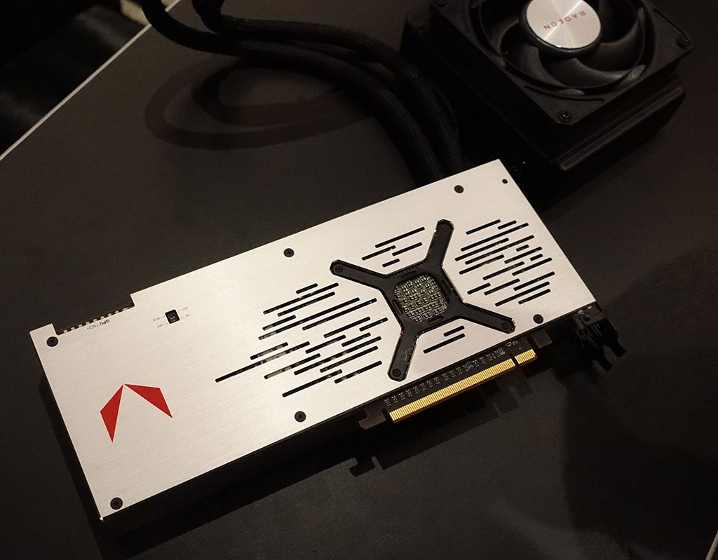 AMD Vega 64 Liquid Cooled