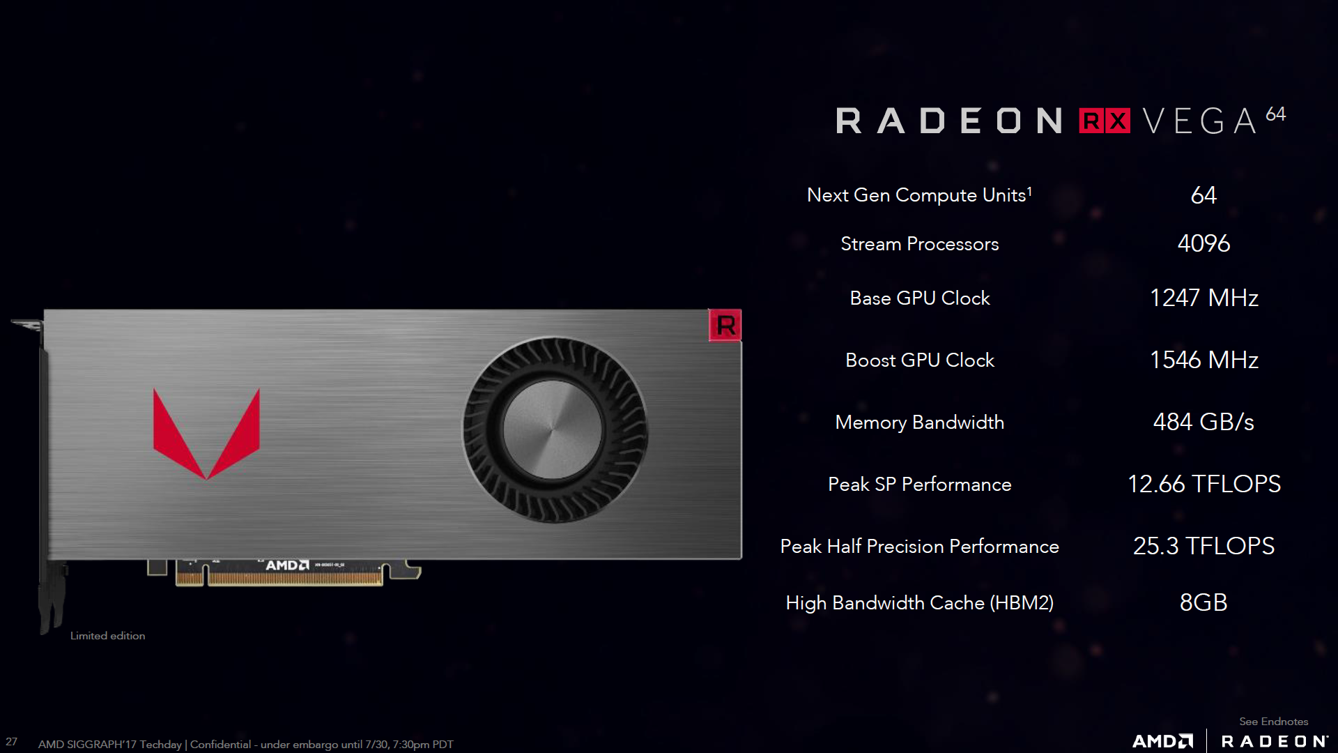 AMD Vega 64 Hashrate
