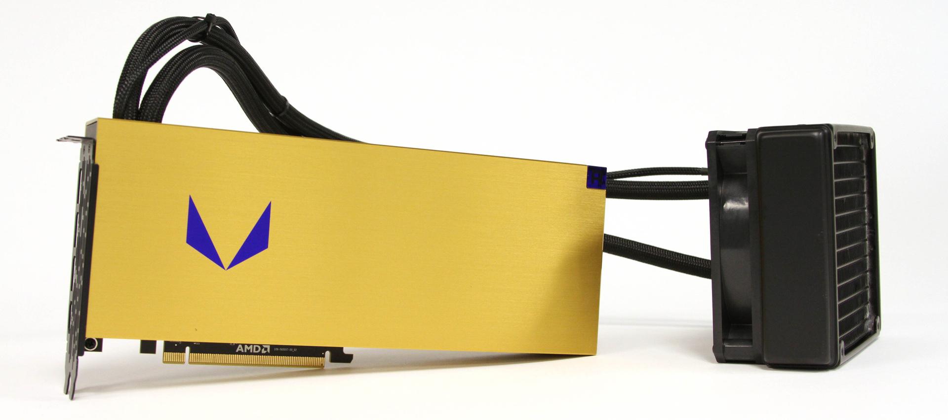 AMD Vega Frontier Edition (FE) Liquid Cooled Hashrate