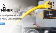 Bitmain Antminer L3+ Hashrate