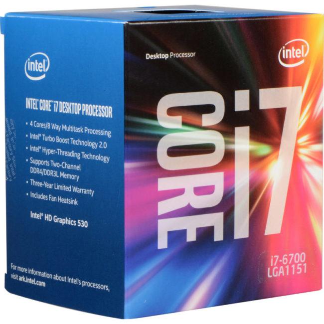Intel i7-6700 Processor Hashrate