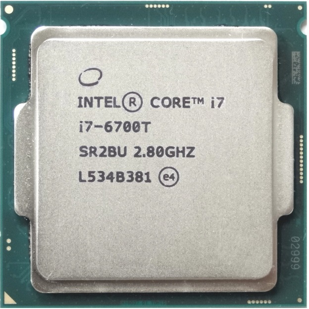 Intel i7-6700T Processor Hashrate