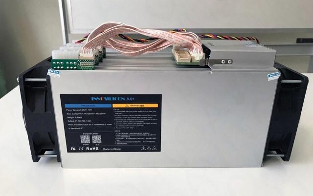 Innosilicon A4+ LTC Master Hashrate