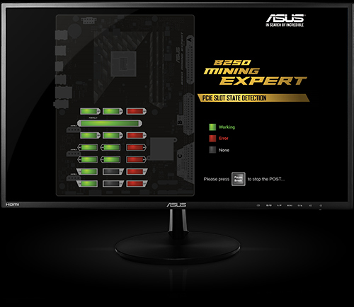 Asus B250 Mining Expert - The World's first 19 GPU Mining Motherboard (5)